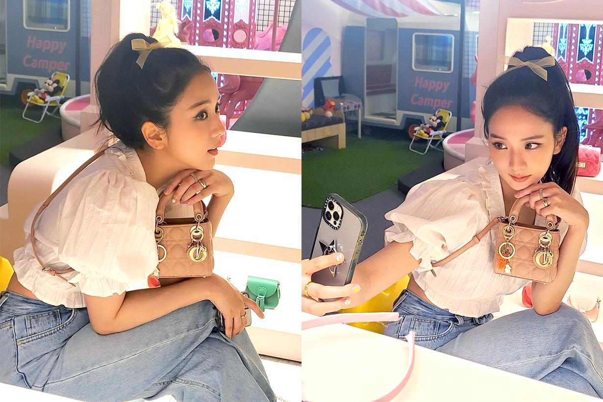 BLACKPINK Jisoo Jennie Lisa Rose Instagram Christian Dior Dior Micro Bag Celebrities Handbags Manicure Nails arts Park Eunkyung korean idols celebrities singers girl bands