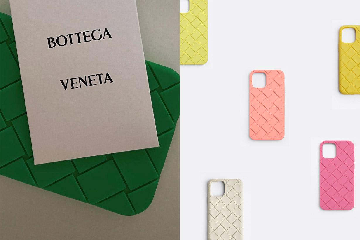 新色上架:Bottega Veneta 編織手機殼,價錢比你想得還親民!
