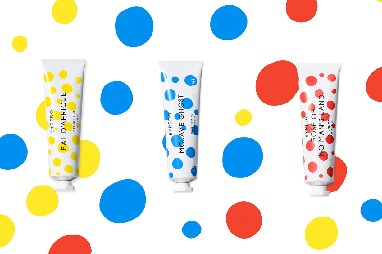 byredo hand cream new package dot colorful 2021 when where buy