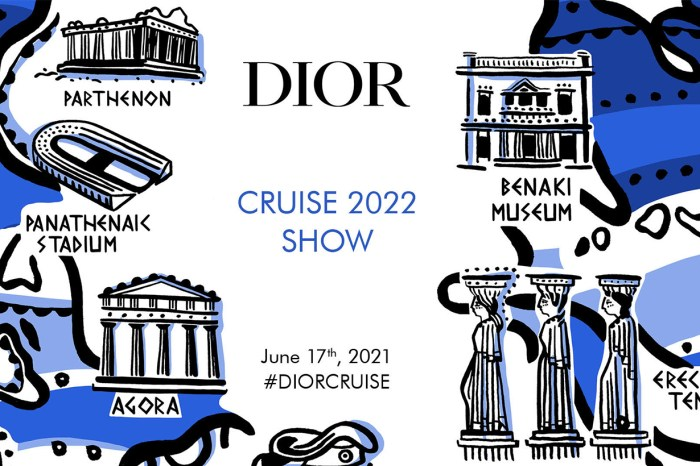 時尚登陸希臘雅典體育場,Dior 2022 早春度假系列時裝騷直播!