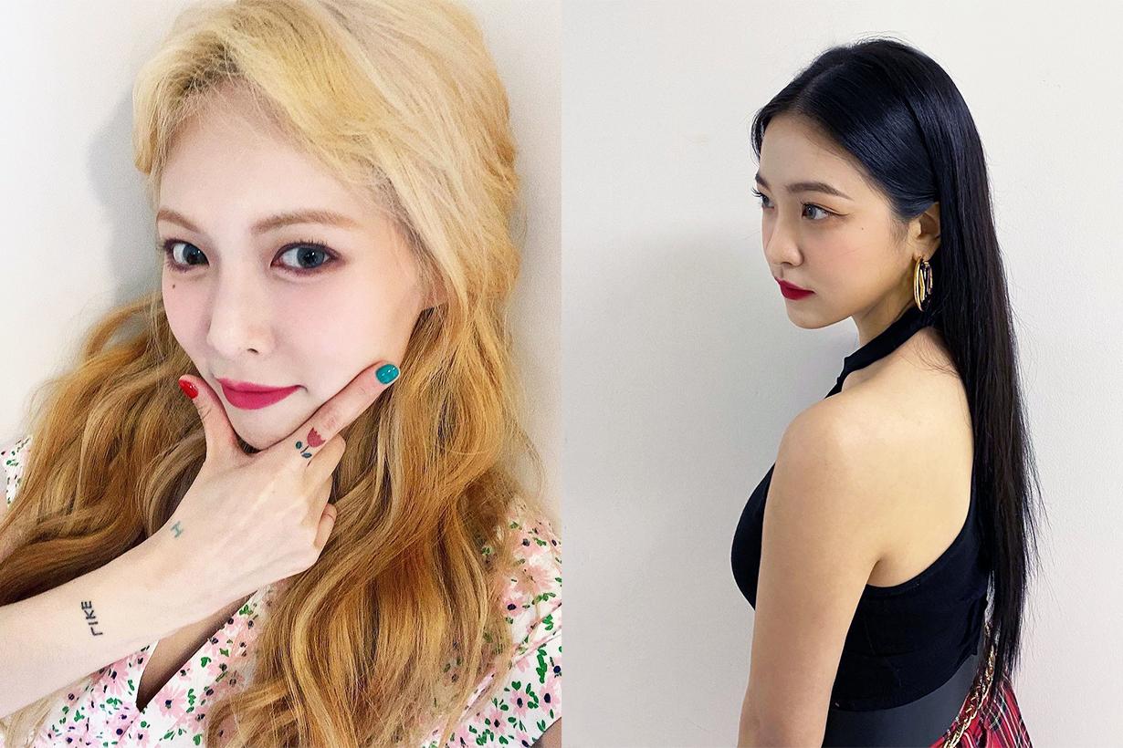 Korean idols Red Lips Red Lipsticks makeup Celebrities Makeup Tips Korean Celebrities Singers Kim Chung Ha Red Velvet Yeri Han Ye Seul Hyuna Kim IZ*ONE Jang Won Young