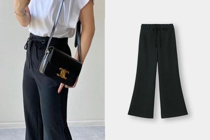 修飾小腹:GU 全新腰帶美褲,才剛上架就即將售罄!