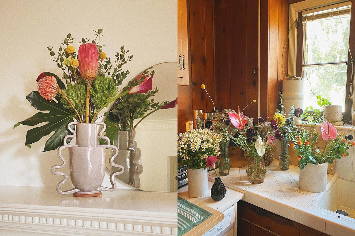 flowers home atmosphere