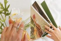 每個精緻女生必備,一枚具有復古氣質的金色戒指!