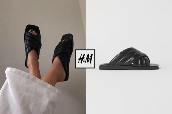 被時髦博主評為「穿過最舒服的拖鞋」,原來是來自超熟悉的H&M!