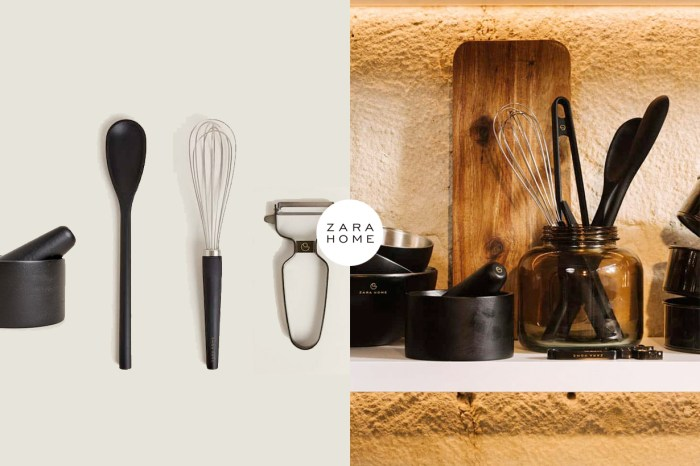 廚房裡的質感小物:霧黑+俐落銀,Zara Home 推出烘焙用廚具!