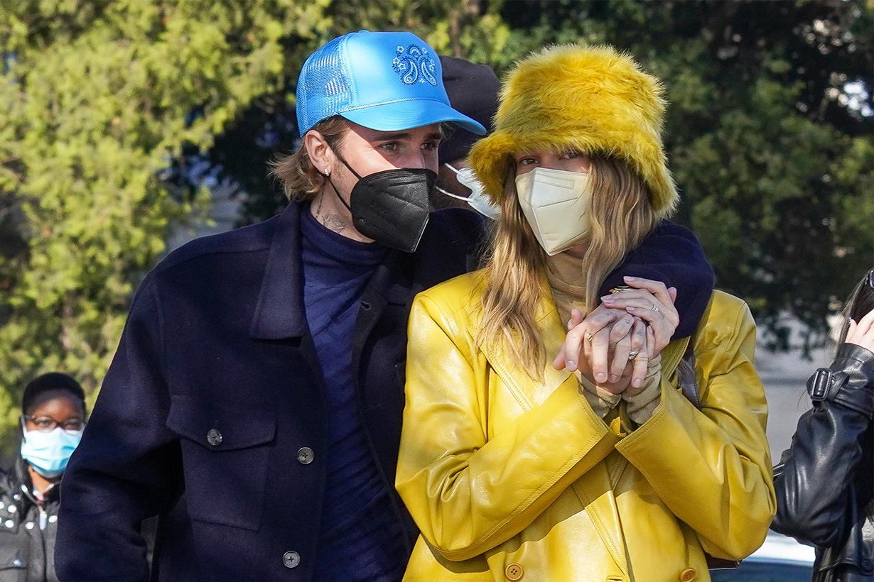 Justin Bieber  Hailey Baldwin French President Emmanuel Macron Brigitte Celebrities Couples