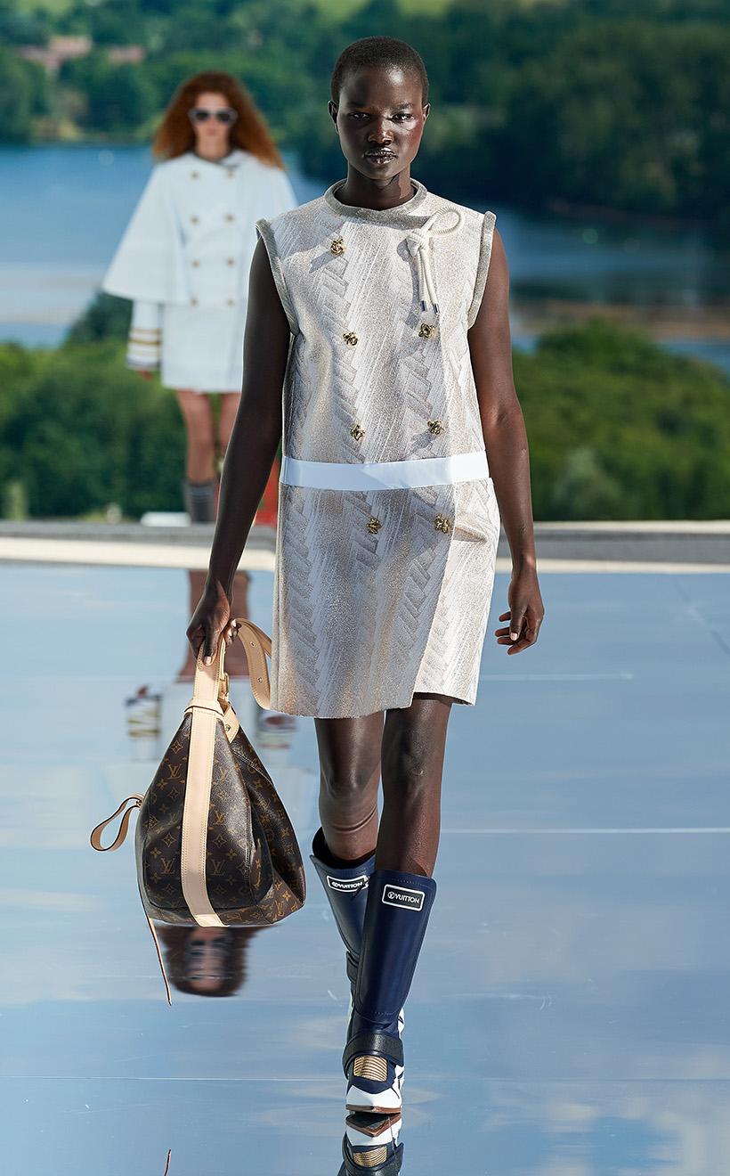 Nicolas Ghesquiere Louis Vuitton Resort 2022