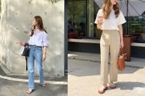 告別裙裝造型,學習韓國博主穿搭,3 款必須加入衣櫃的褲子!