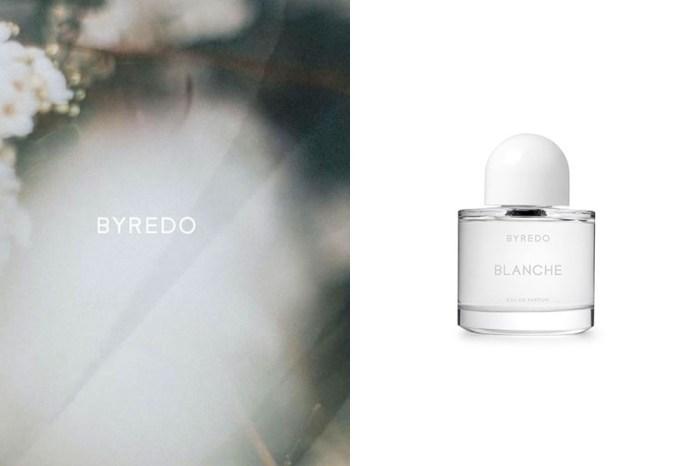 被稱為推出至今最性感,Byredo 全白限定香水引起話題!