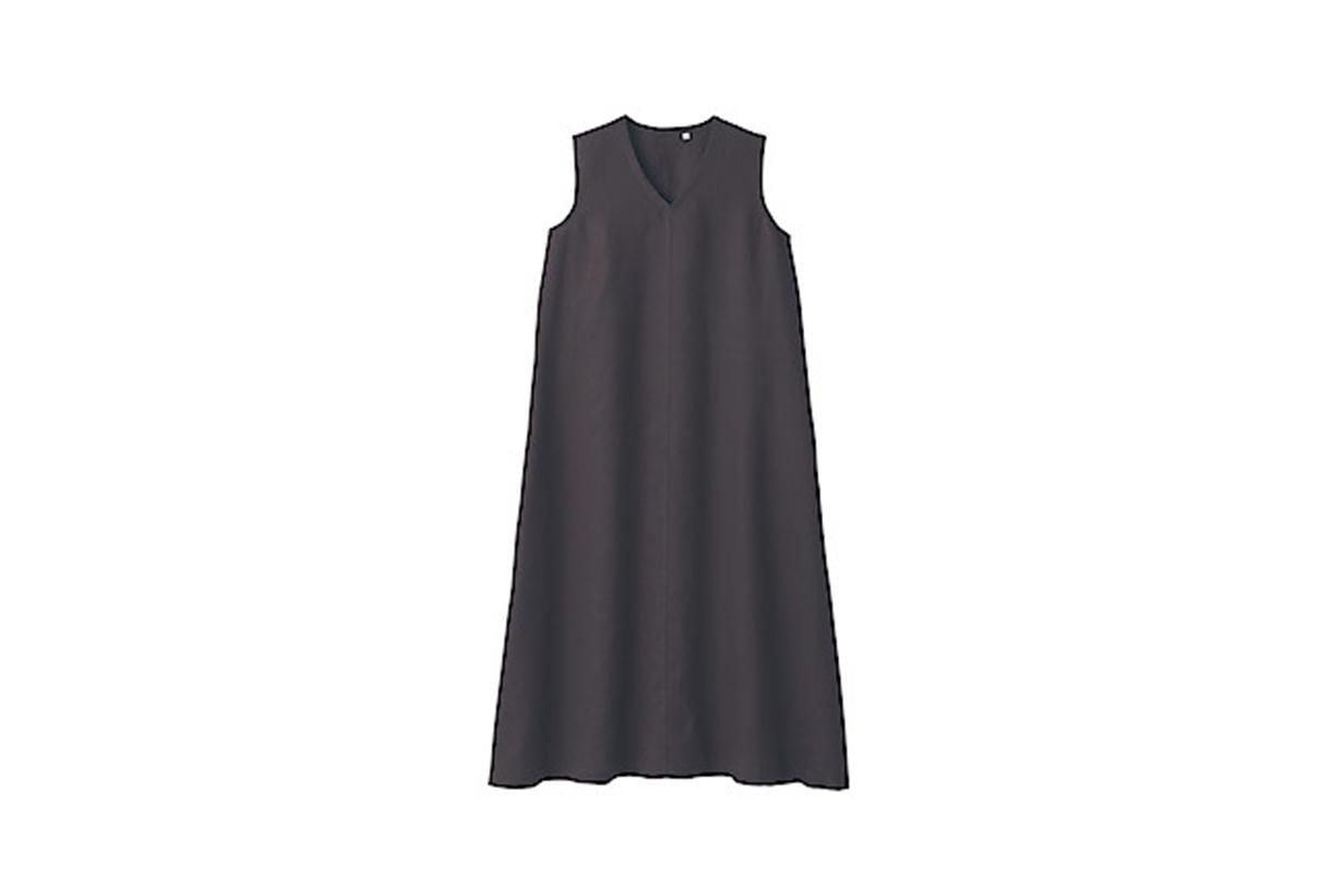 MUJI Ladies' French Linen Sleeveless 2021ss