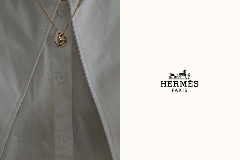 被詢問到爆:Hermès 極簡俐落項鍊,連時髦博主也難以抗拒!