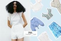 屬於夏日的一抺藍與白:終於等到 Zara 減價季,嚴選 7 款搶手單品!
