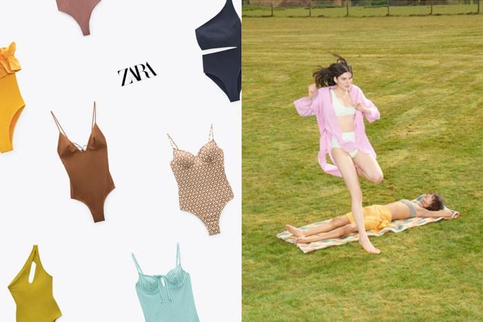 Zara 夏日系列上架:10+ 款連身泳衣,100%  的選擇障礙!