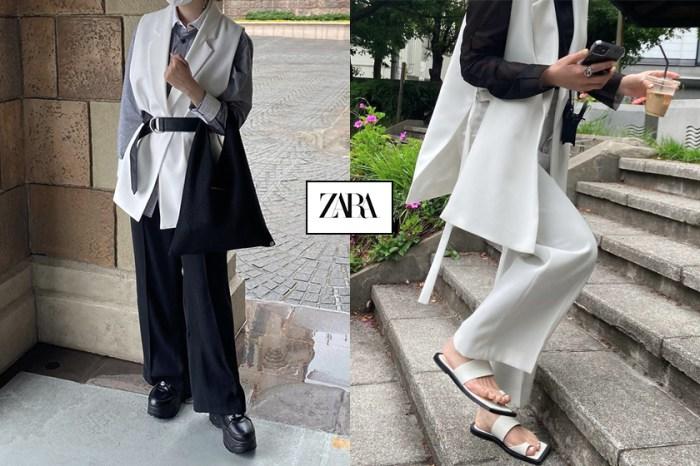 時髦新寵兒:ZARA 開衩背心,正在日本女生 IG 上竄紅!