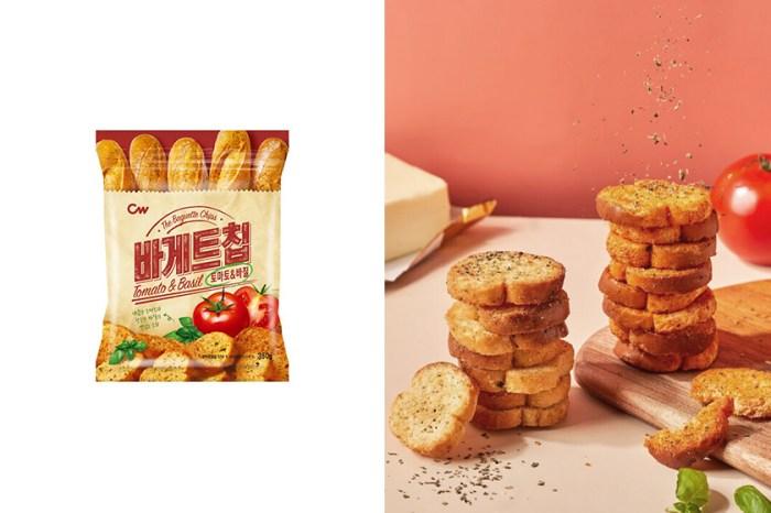 搶購一空的大蒜麵包餅乾之後,韓國 CW 推出鹹甜「西西里番茄」新口味!