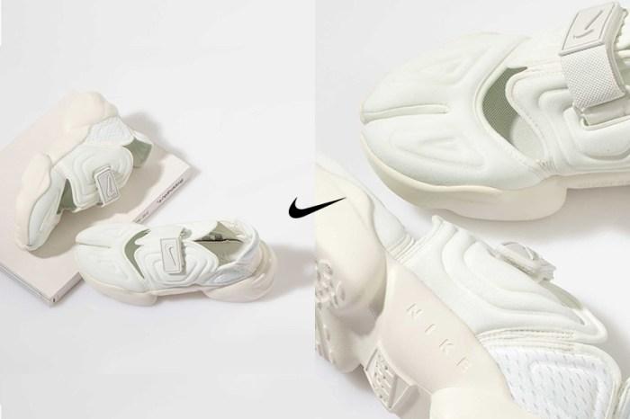 夏日命定波鞋:淺淺奶油杏仁色,Nike 極簡分趾鞋 Aqua Rift 再度回歸!
