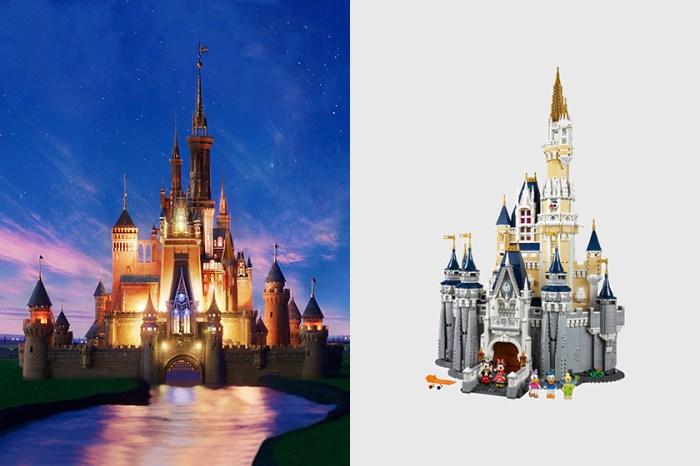 最浪漫擺設:居家時光不無聊,用 LEGO 拼出一座 Disney 夢幻城堡吧!
