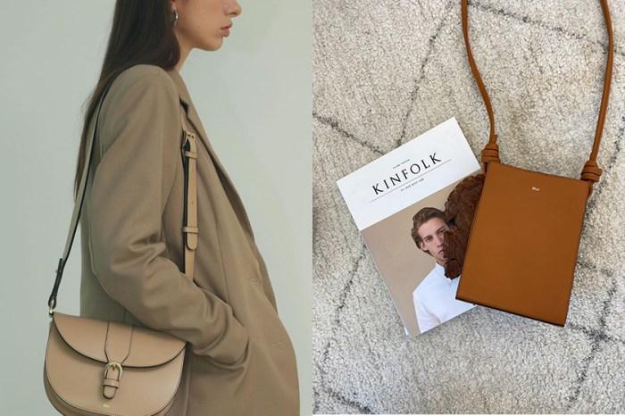 使用純素皮革的韓國小眾品牌 Mur,極簡手袋默默被時髦女生收藏!