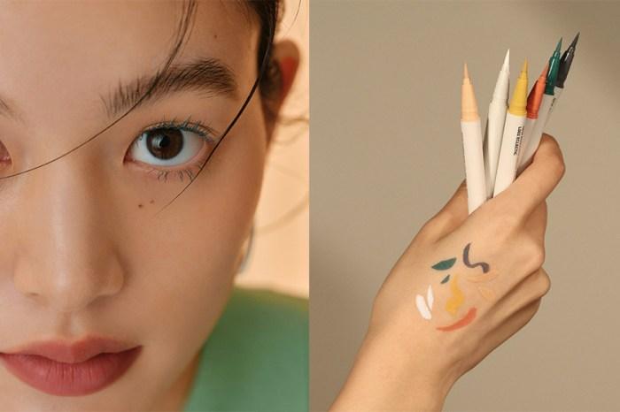 韓國高顏值彩妝品牌 hince 話題新上架:一次推出多達 12 色的睫毛膏+眼線筆!