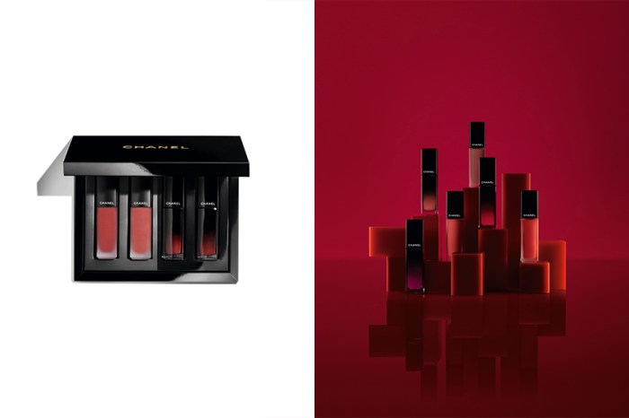 時髦女生都想擁有:Chanel 推出限量的唇彩釉光盒,裡面藏著四款人氣唇彩!