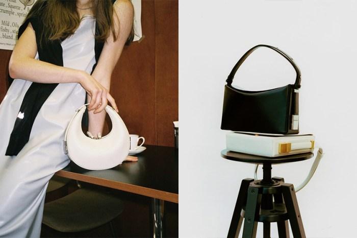極簡女生大愛的韓國小眾手袋 OSOI,這款澎潤可愛的彎月包再度引起關注!