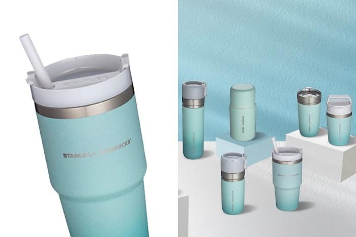 一抹絕美的天空藍:引起搶購的 STANLEY x Starbucks 再度上架聯名系列!