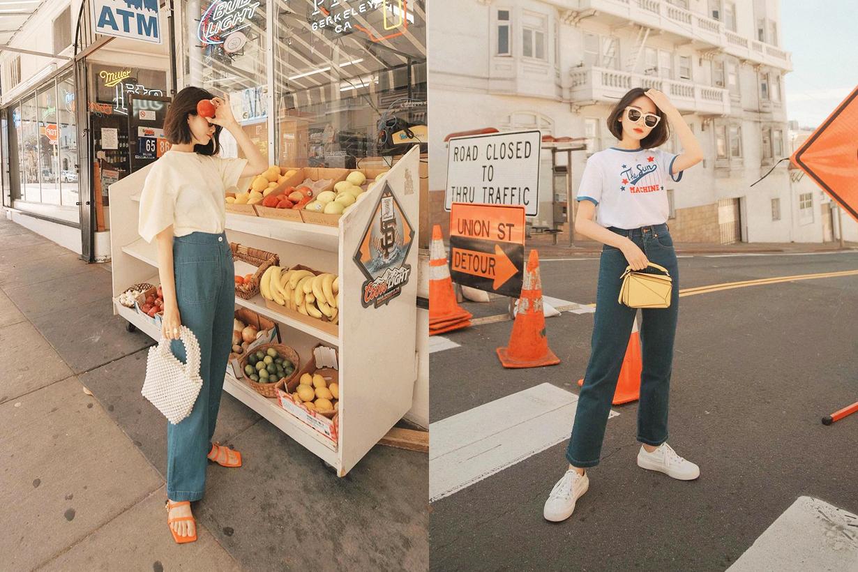 2021 Spring Summer White T Shirt Fashion trends fashion items popbee editors pick Maison Kitsune  TOTÊME Frankie Shop
