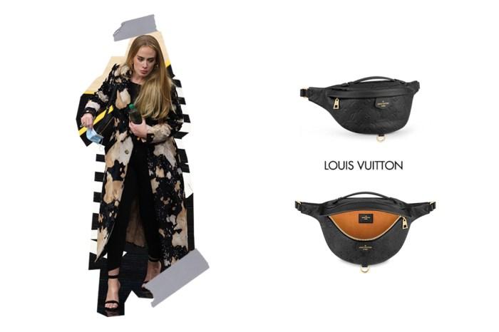 百搭又不易撞包,Adele 這枚 Louis Vuitton 低調又能展現品味!