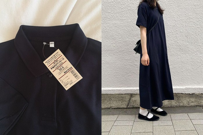 MUJI 全新推出的 Polo Dress,俐落又可愛在 IG 上爆紅!