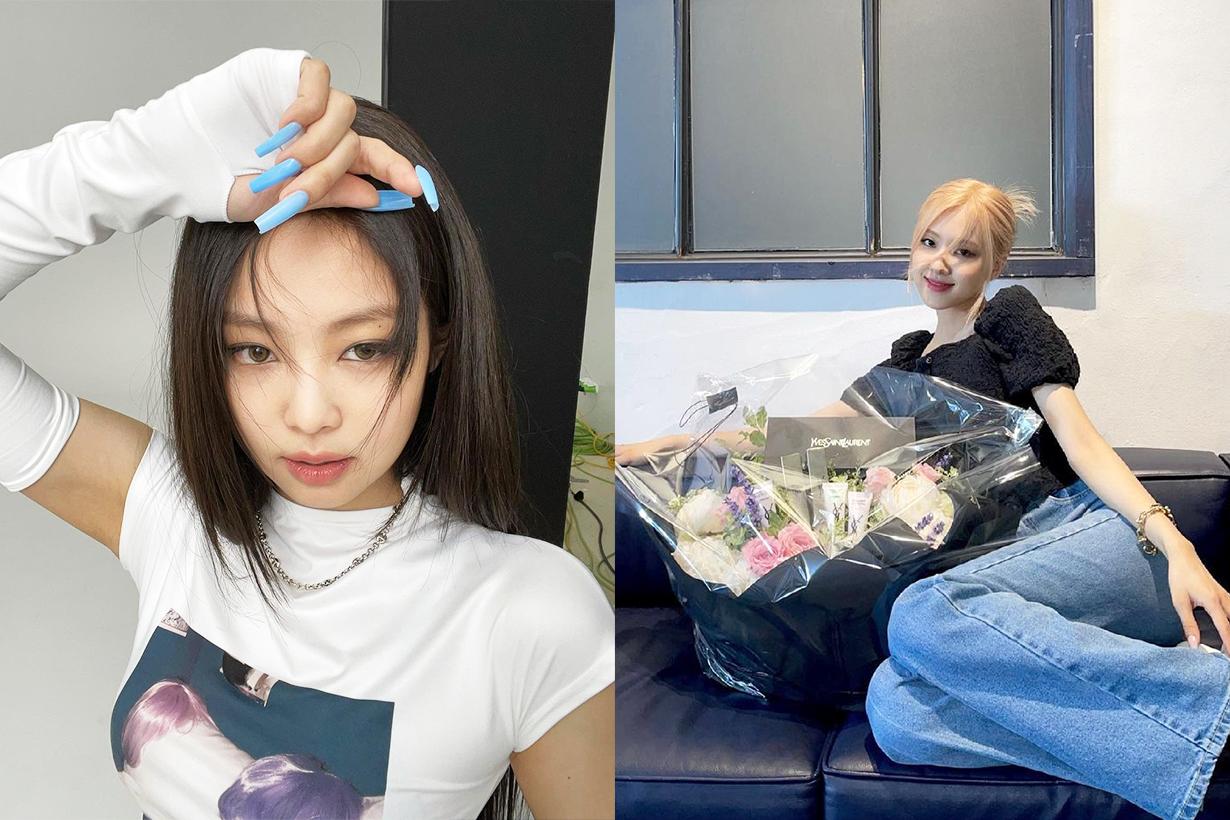 BLACKPINK Jennie Rose Lisa Jisoo TikTok star Bella Poarch korean idols celebrities singers girl bands