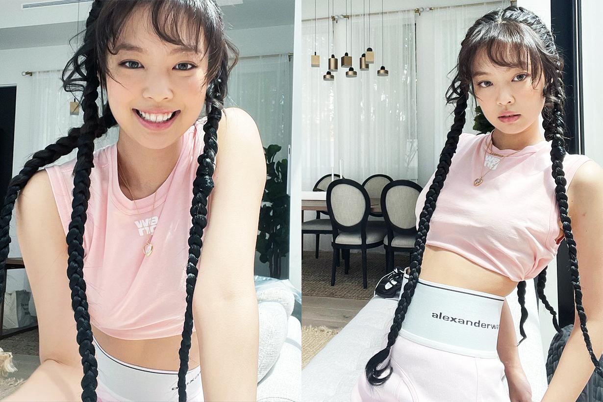 BLACKPINK Jennie Lisa Jisoo Rose Waist chain Celebrities styles accessories Jewellery trend 2021 Spring Summer fashion trends korean idols celebrities singers girl bands