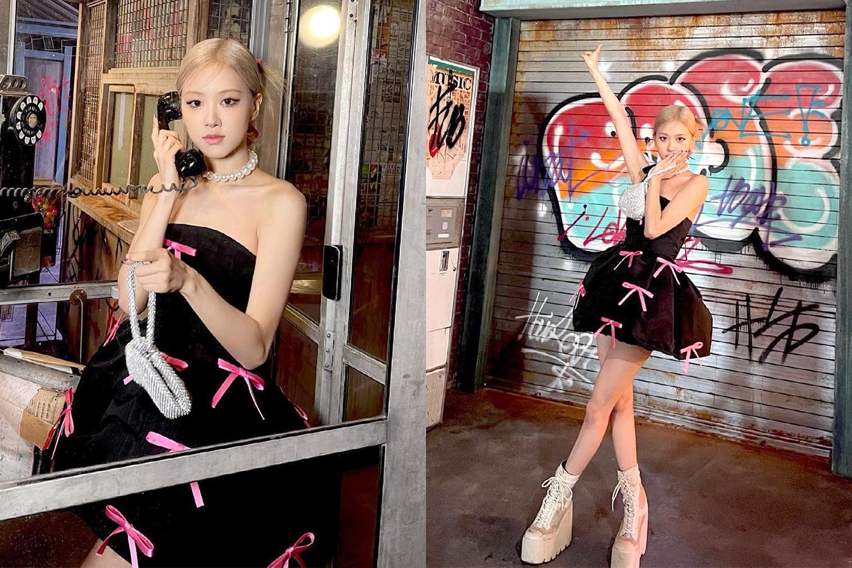 BLACKPINK Rosé Jennie Lisa Jisoo KHAITE Dress Jeans celebrities styles JTBC The Sea I Desire Korean idols celebrities singers girl bands
