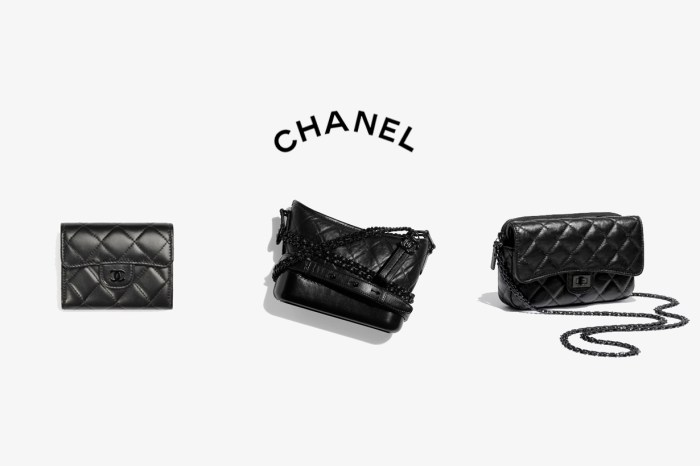 可遇不可求:CHANEL 將經典手袋,換上了零死角的質感黑!