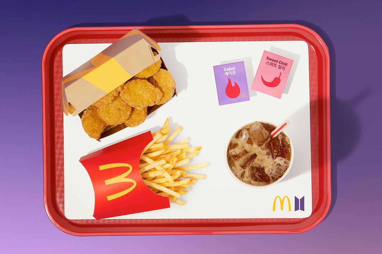 BTS McDonald's Growth sales third quarter 2021 McNuggets k pop
