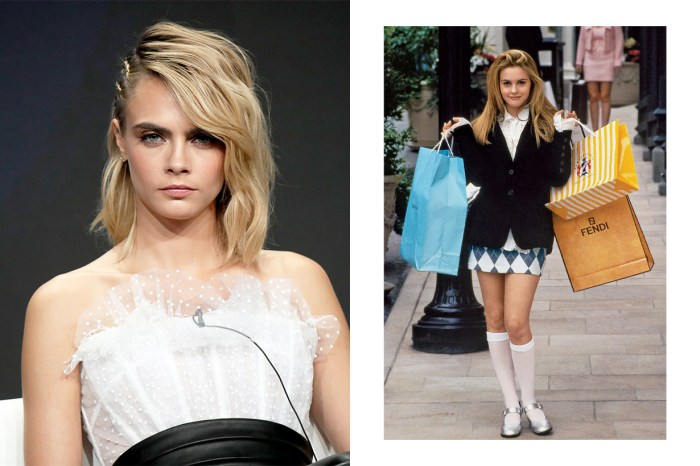 Cara Delevingne IG 分享近照,網民:這不就是《Clueless 獨領風騷》的女主角造型嗎?