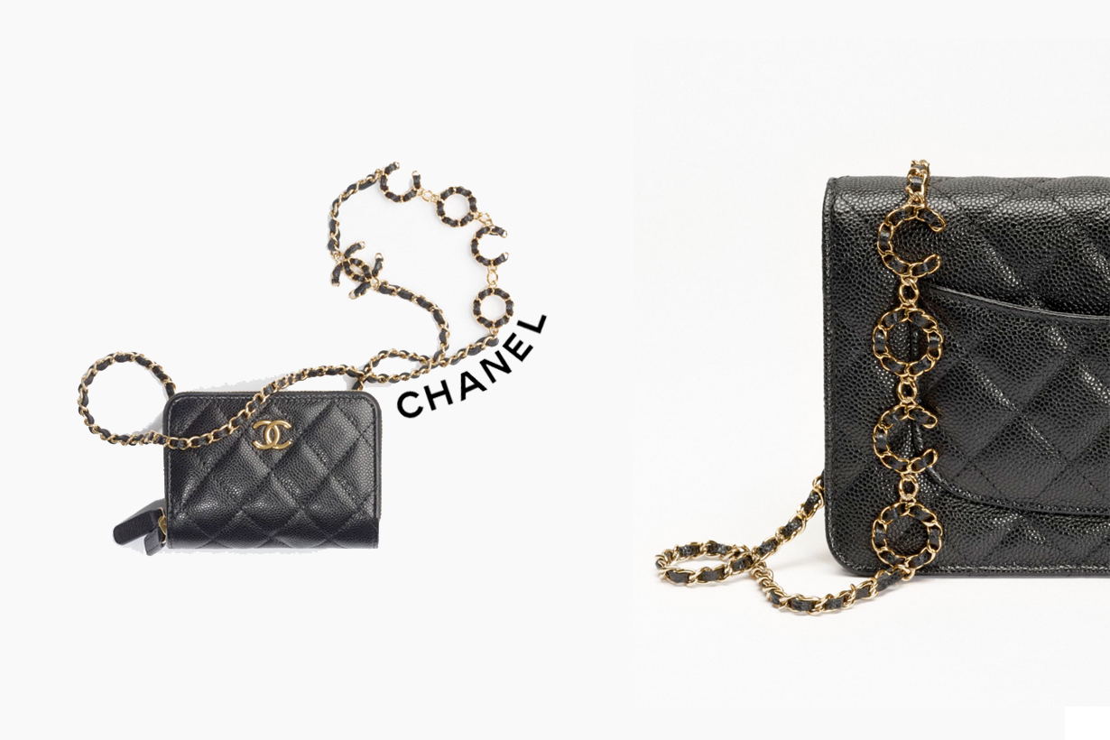 chanel wallet clutch chain coco 21B coco new