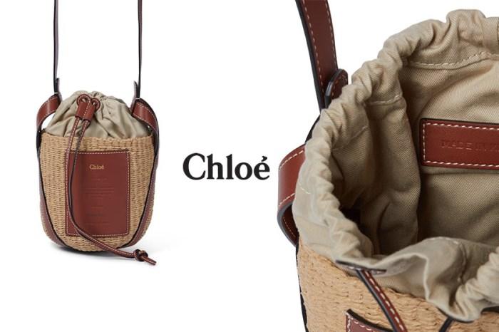 下一個斷貨王是它!Chloé 親民價皮革編織手袋絕對是夏季的代表!