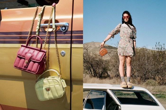 免運到家:Coach 線上購物開站,已經瞄準好 5 款手袋!