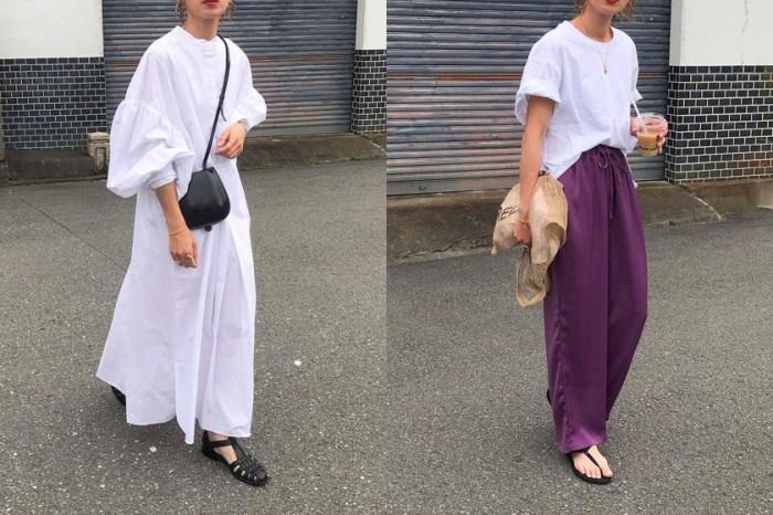 當 UNIQLO 配上 Lemaire,158 公分的日本女生穿出小資高級感!
