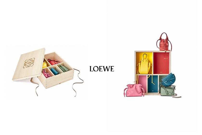5 顆一次抱回家……LOEWE 超迷你手袋木盒,發售日期終於公開!