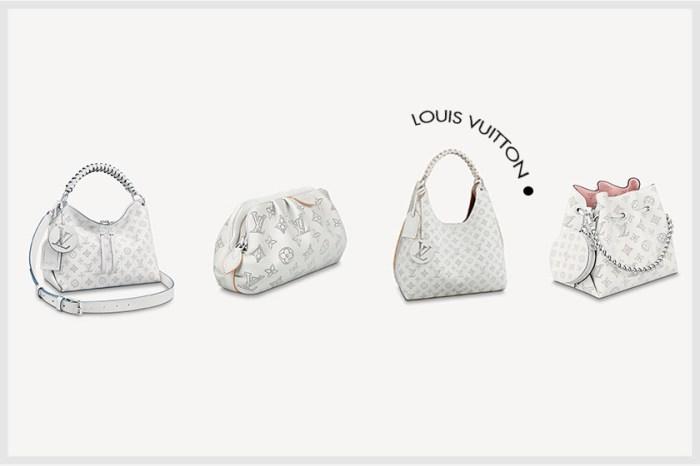 白色仙女款:Louis Vuitton 超可愛打孔 Monogram,缺貨前先搶!