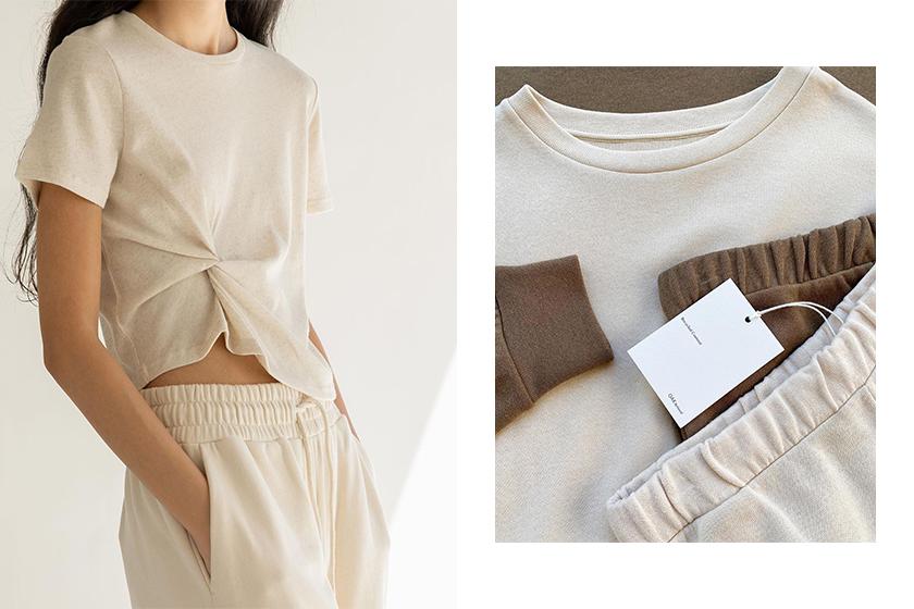 fast fashion brand OAK + FORT minimalist