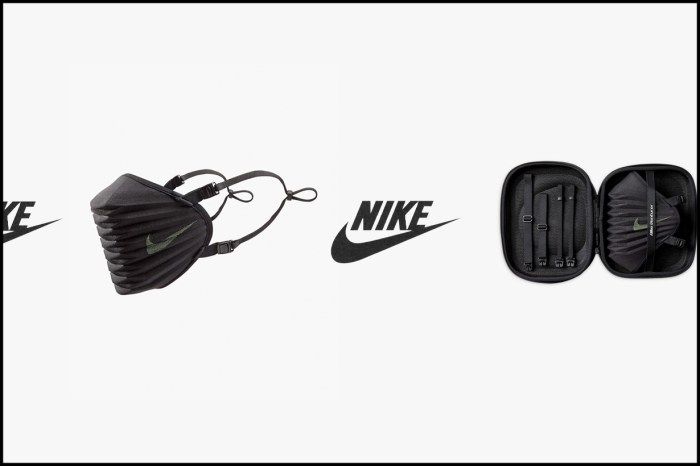 奧運選手口罩引起熱搶:來自 Nike,還是你看過功能性最強的一款!