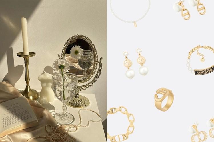 95% 爆紅率:Dior 新上架耳環、項鍊和戒指,美到襯出脫俗氣質!