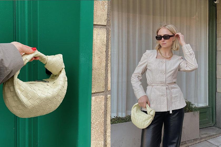 lyst Index 2021 Q2 Hottest Products handbags Bottega Veneta mini Jodie bag  FendiBaguette
