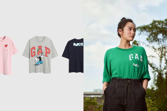 夏日 T-Shirt 新選擇:GAP x POPEYE,還有免費客製化電繡服務!