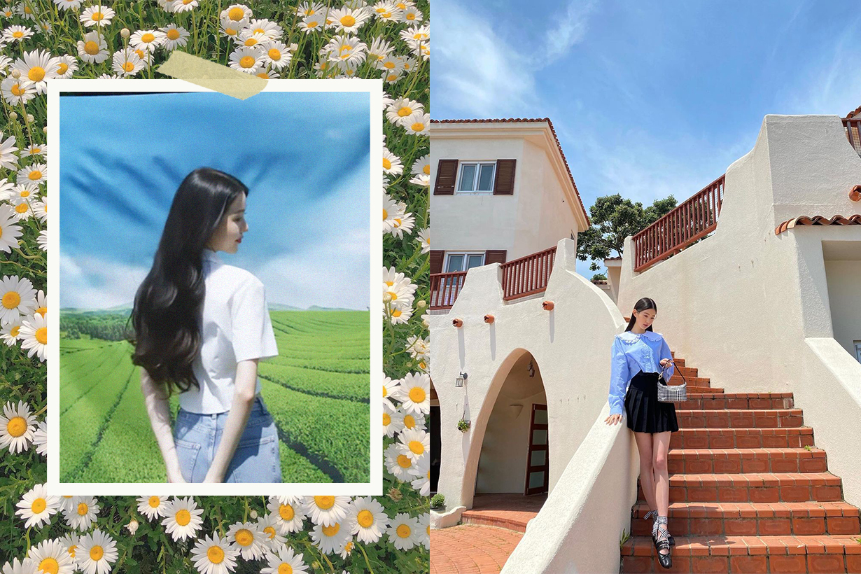 Innisfree Korean Skincare Brand New Model Yoona Lim Girls Generation Jang Won Young IZ*ONE korean idols celebrities singers