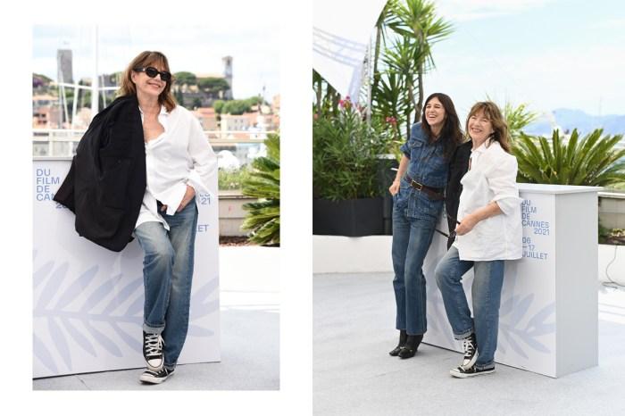 唯一穿牛仔褲 + Converse 去坎城影展的明星,誰叫她是 Jane Birkin?