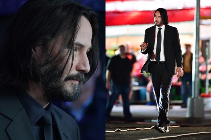 《John Wick》開拍現場:瀟灑長髮呢?Keanu 雙髮夾反差照引話題!